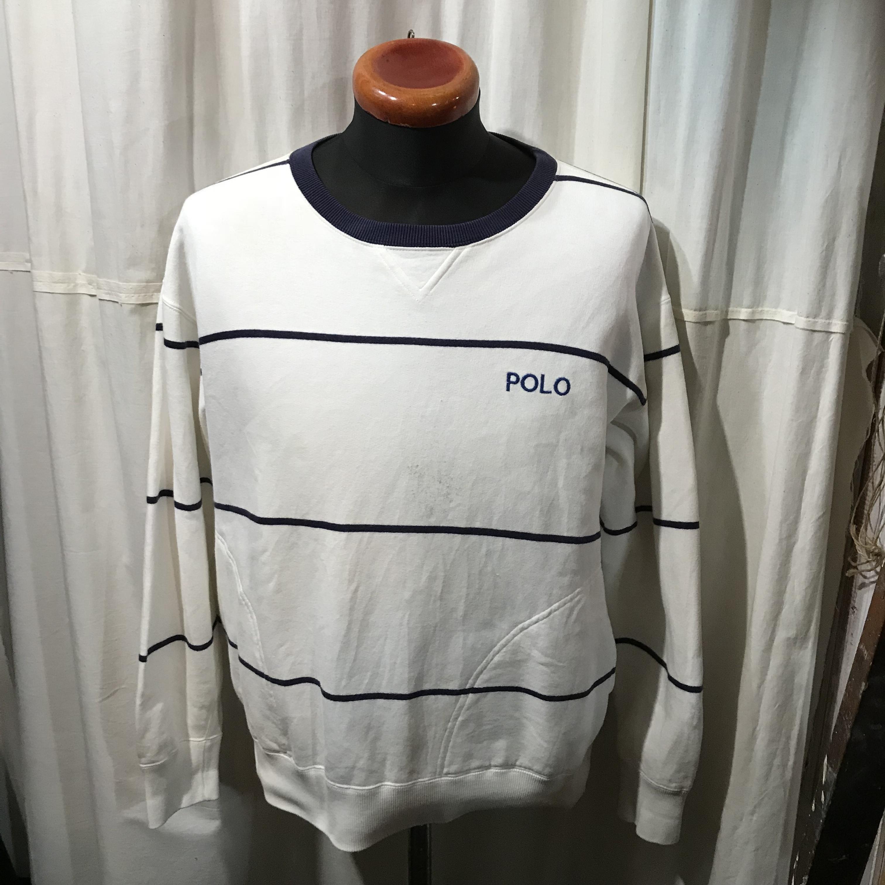 Ralph Lauren ラルフローレン ハンドポケット付きスウェットシャツ メンズL程度