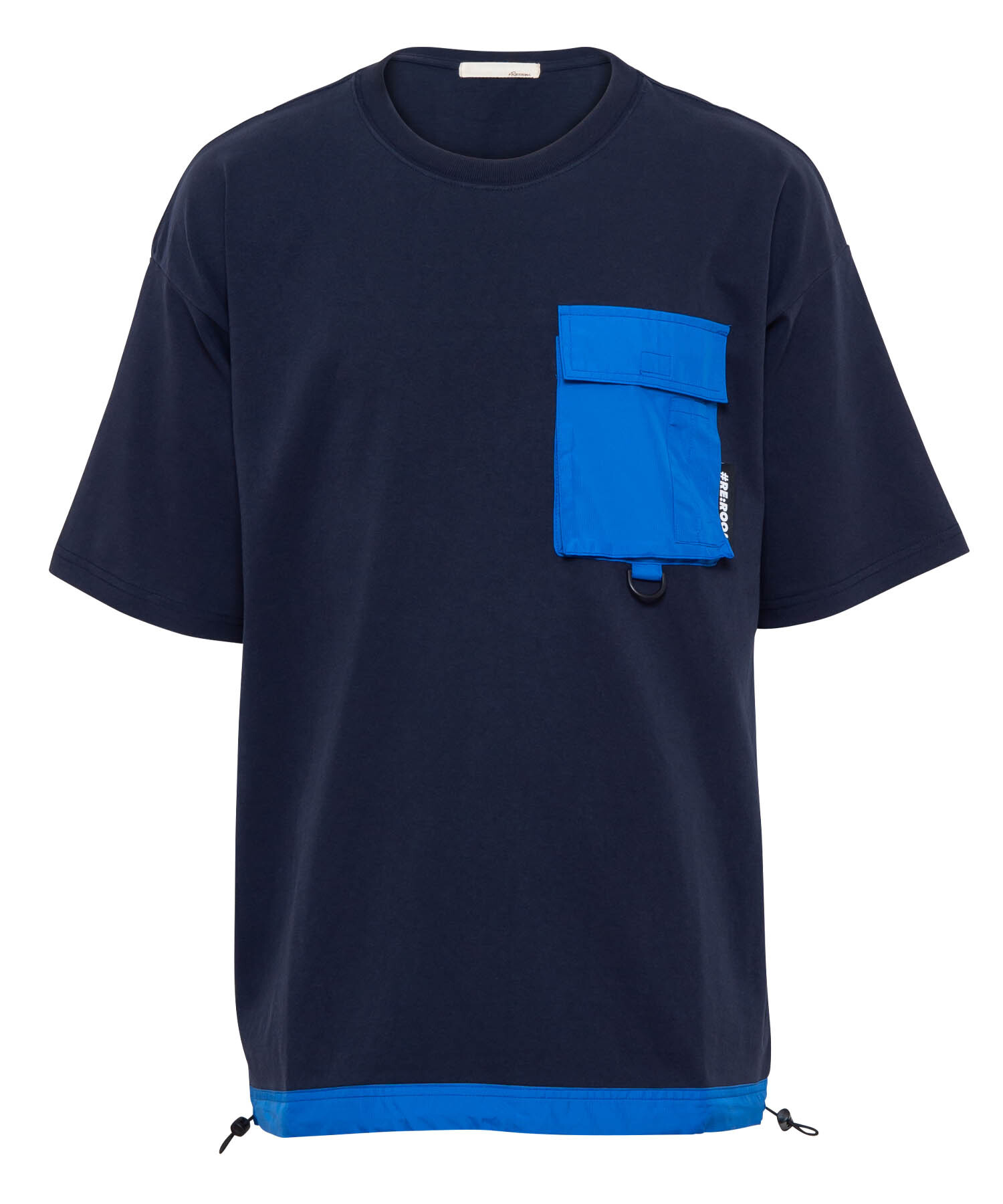 NYLON POCKET BIG T-shirt[REC379]