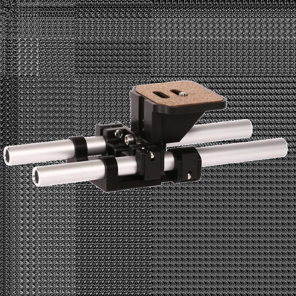 ★1台限り! 型落ち・展示品セール★0350-0300:一眼レフ・標準カメラ用15mmレールサポート