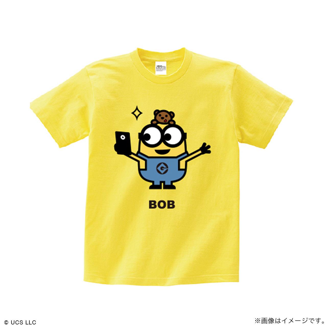 キッズTシャツ/ミニオン(ボブ イエロー)【MINIONS POP UP STORE 限定】
