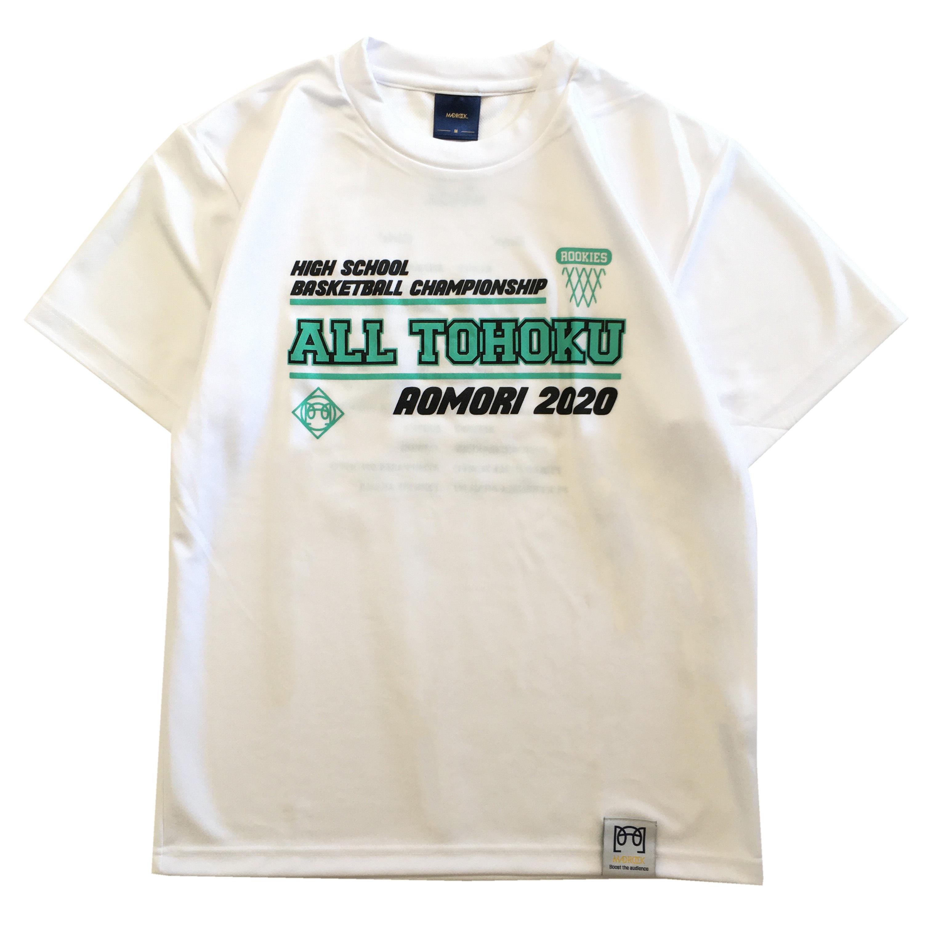 【記念Tシャツ】マッドロック / 東北新人大会記念  Tシャツ / ホワイト