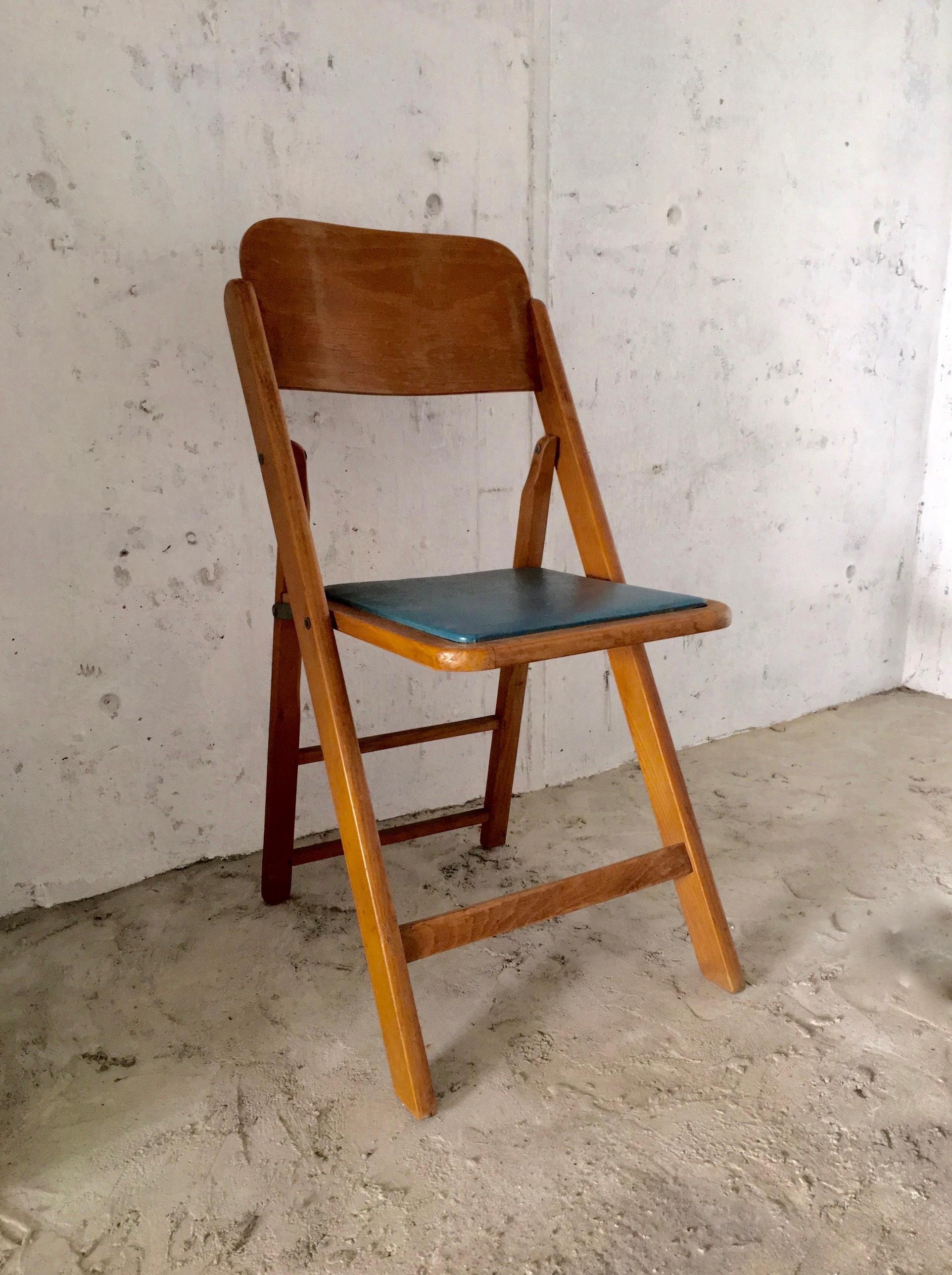 レトロな木味のチェア[古家具]