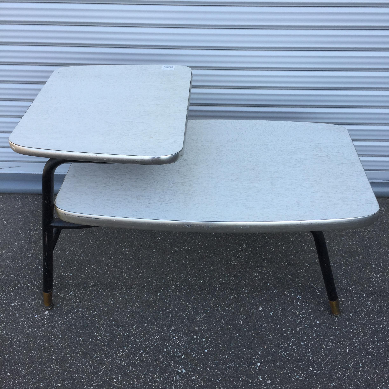 品番0355 50's ステップテーブル メラミントップ アメリカン ヴィンテージ 家具 011