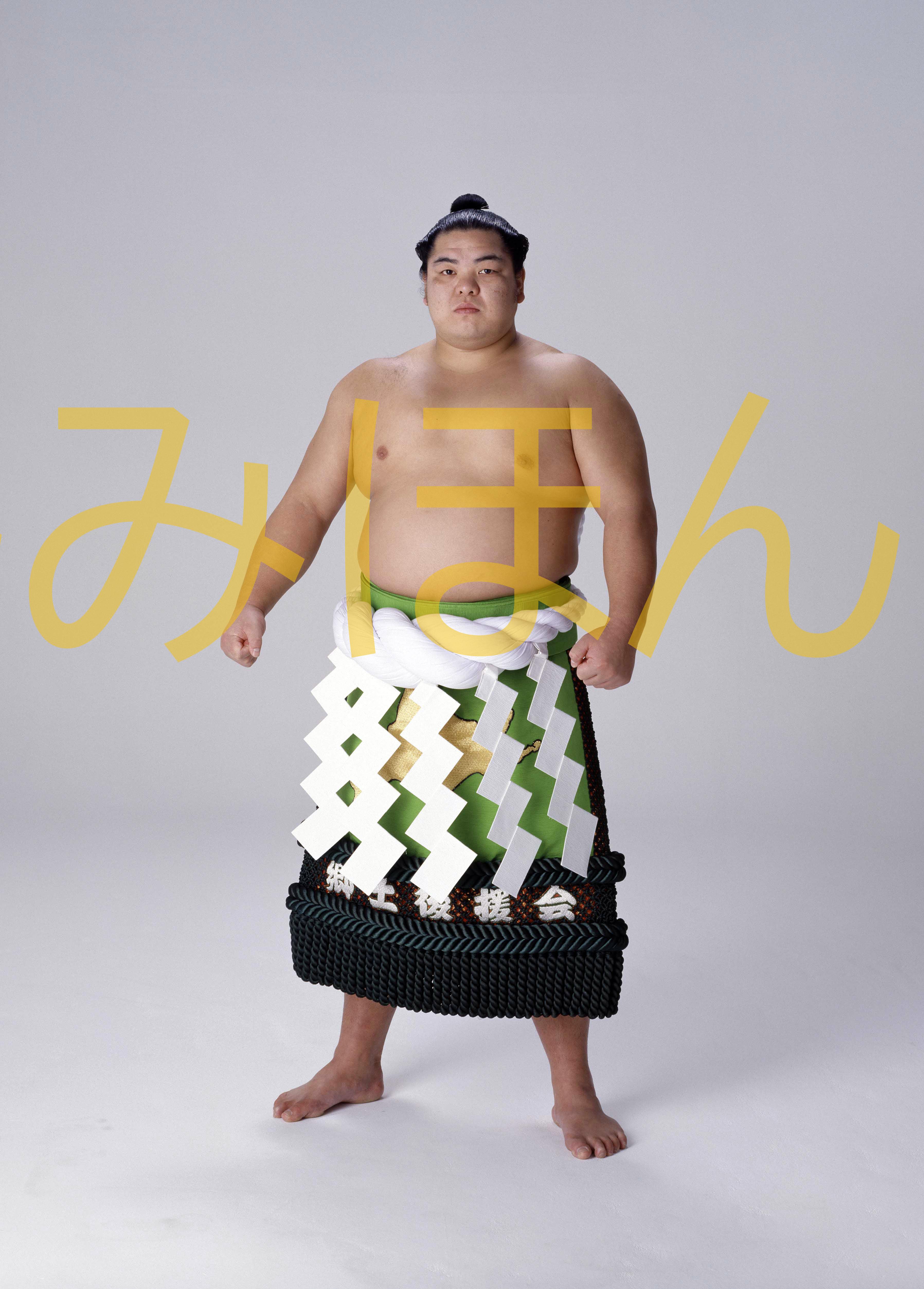 平成元年1月場所優勝 横綱 北勝海信芳関(4回目の優勝)