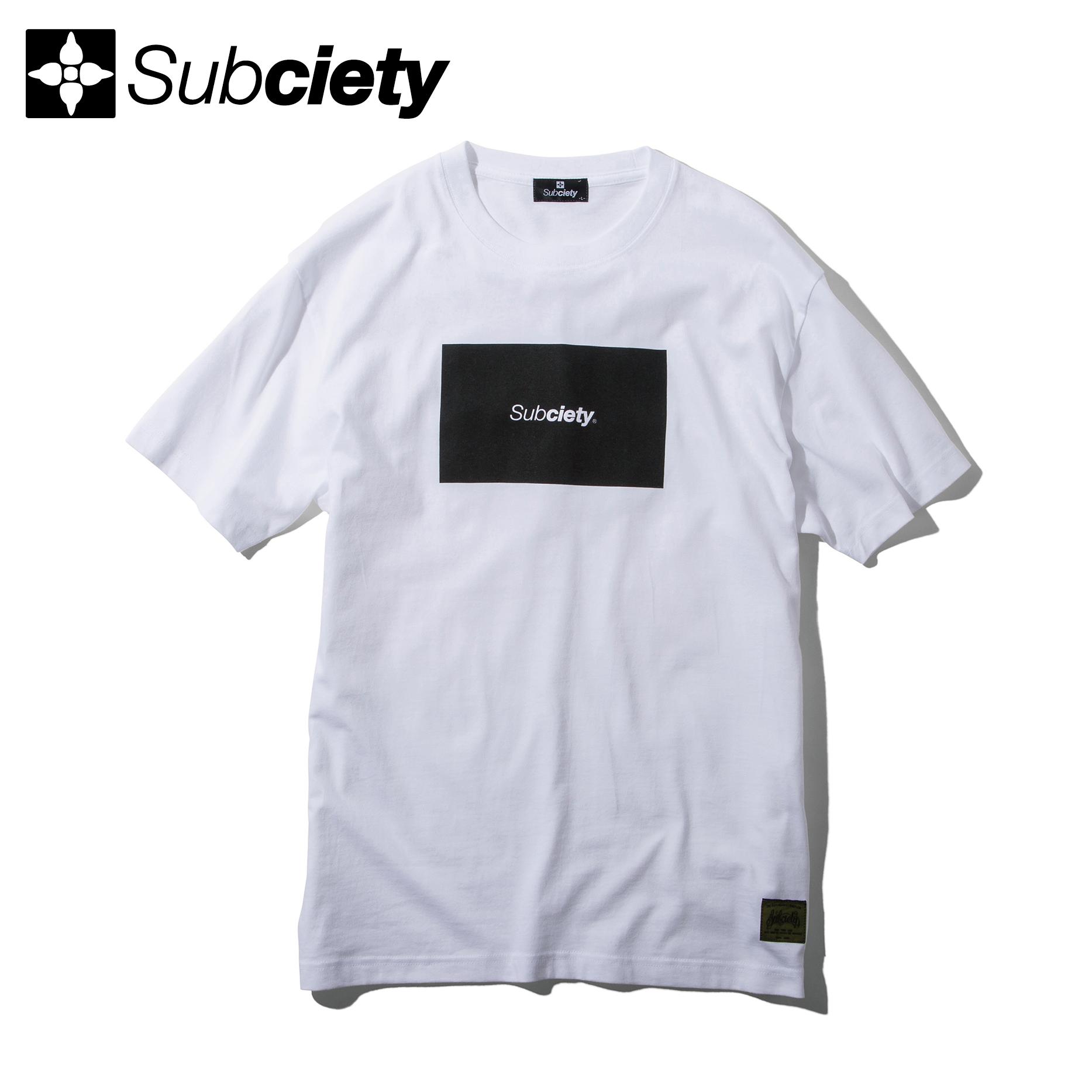 Subciety(サブサエティ) | RATIO S/S (White)
