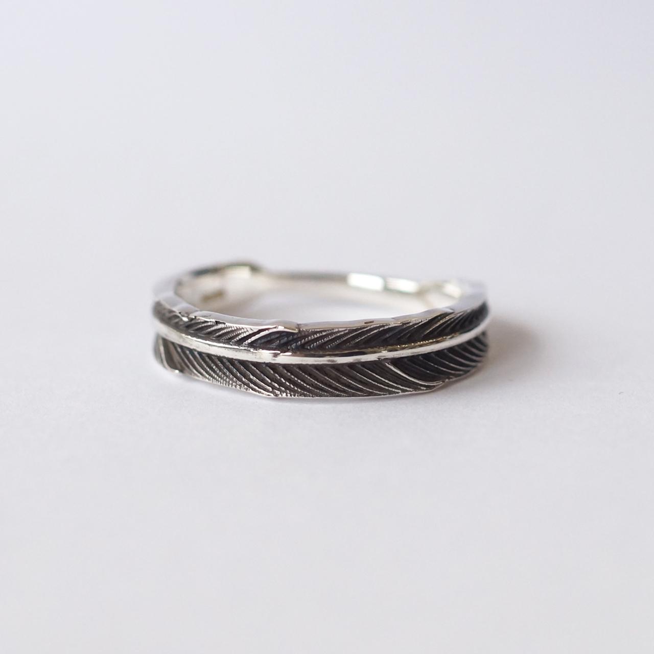 Silver / リング / Gabriele Wide silver ~Piuma~
