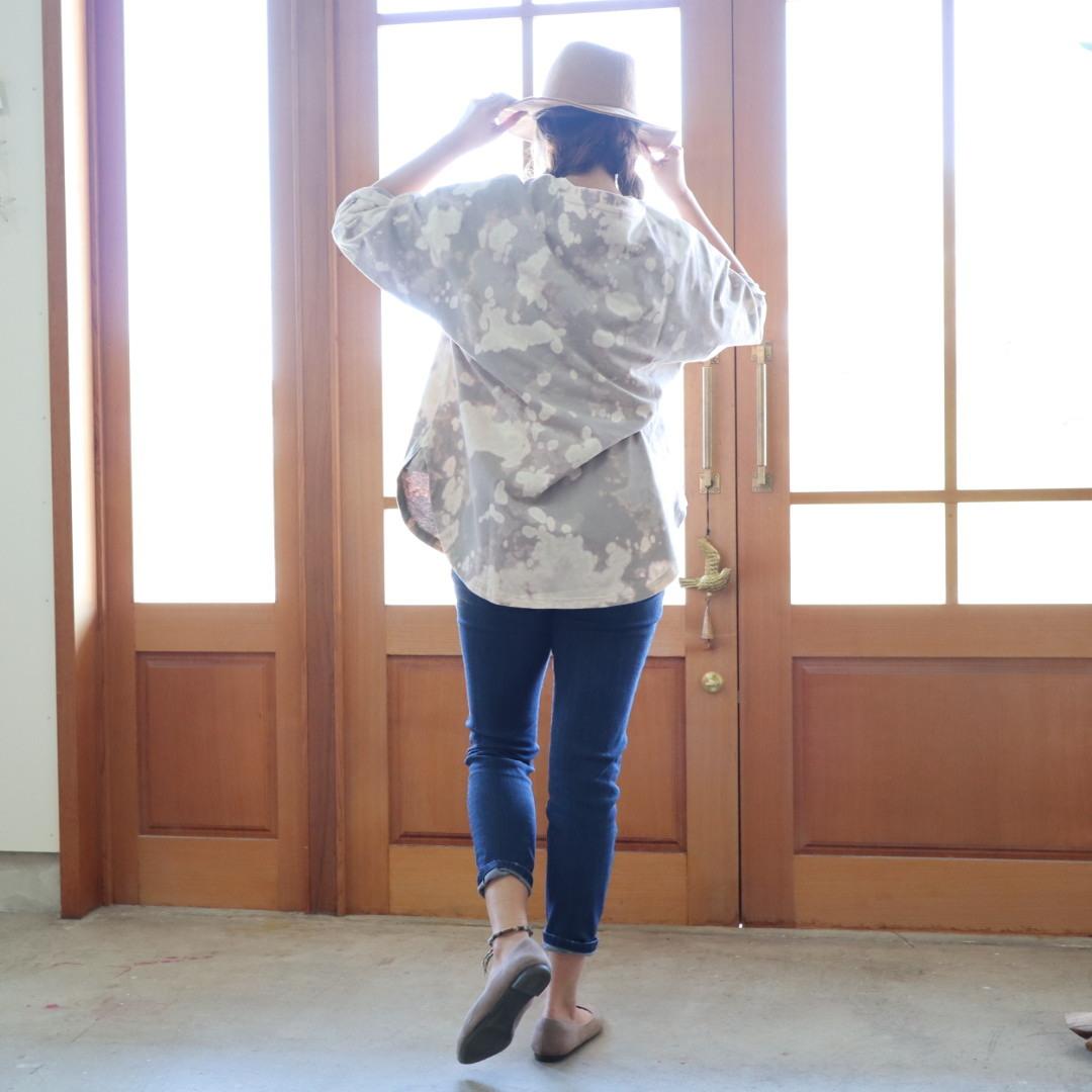 タイダイ七分袖Tシャツ
