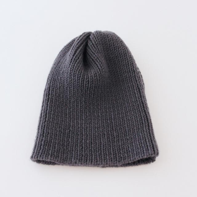 No.3の糸をつかったニット帽 (Cタイプ)