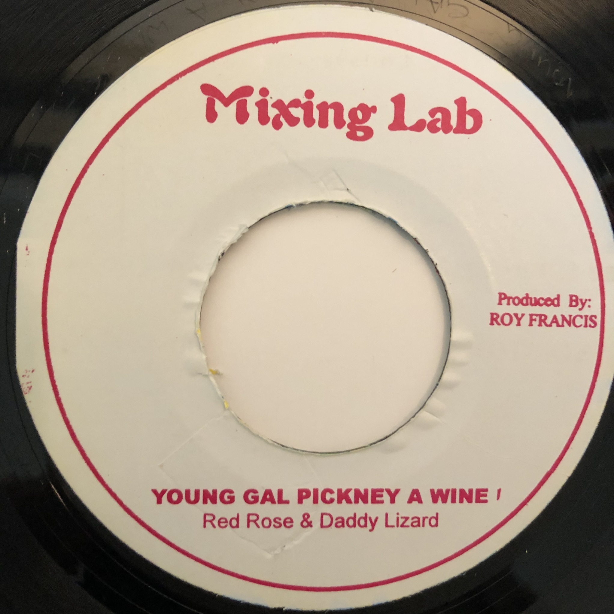 Anthony Red Rose, Daddy Lizard - Young Gal Pickney A Wine【7-20357】