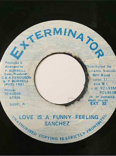 Sanchez(サンチェス) - Love Is A Funny Feeling【7'】