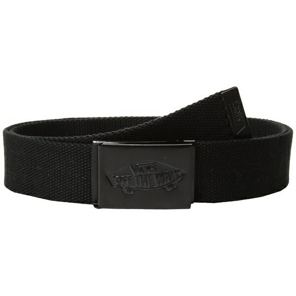 VANS(ヴァンズ) | Conductor II Web Belt (Black)