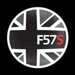 ゴーバッジ(★在庫処分★)(CD1025 - FLAG BLACKJACK F57S) - 画像1