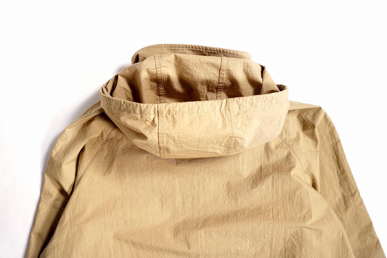 Cotton Nylon Ripstop Parka