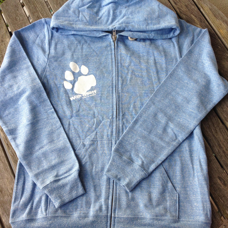 雪豹パーカー Authentic Blue