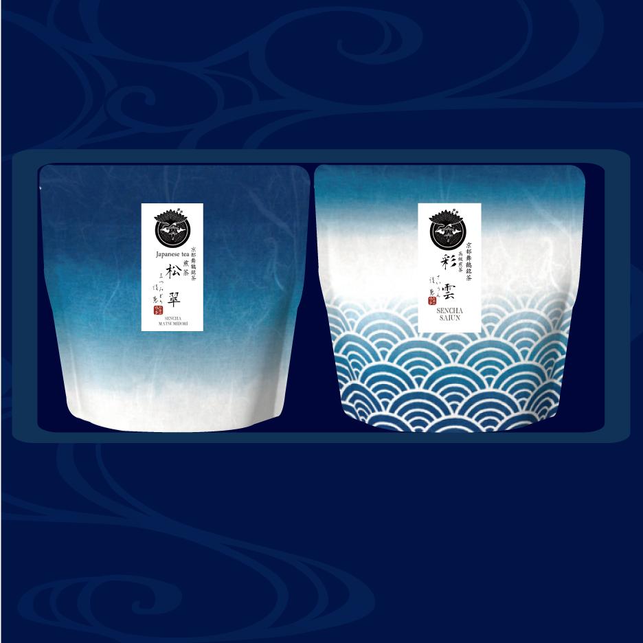 高級茶-こゝろ-:【藍を贈る】3000(リーフ)