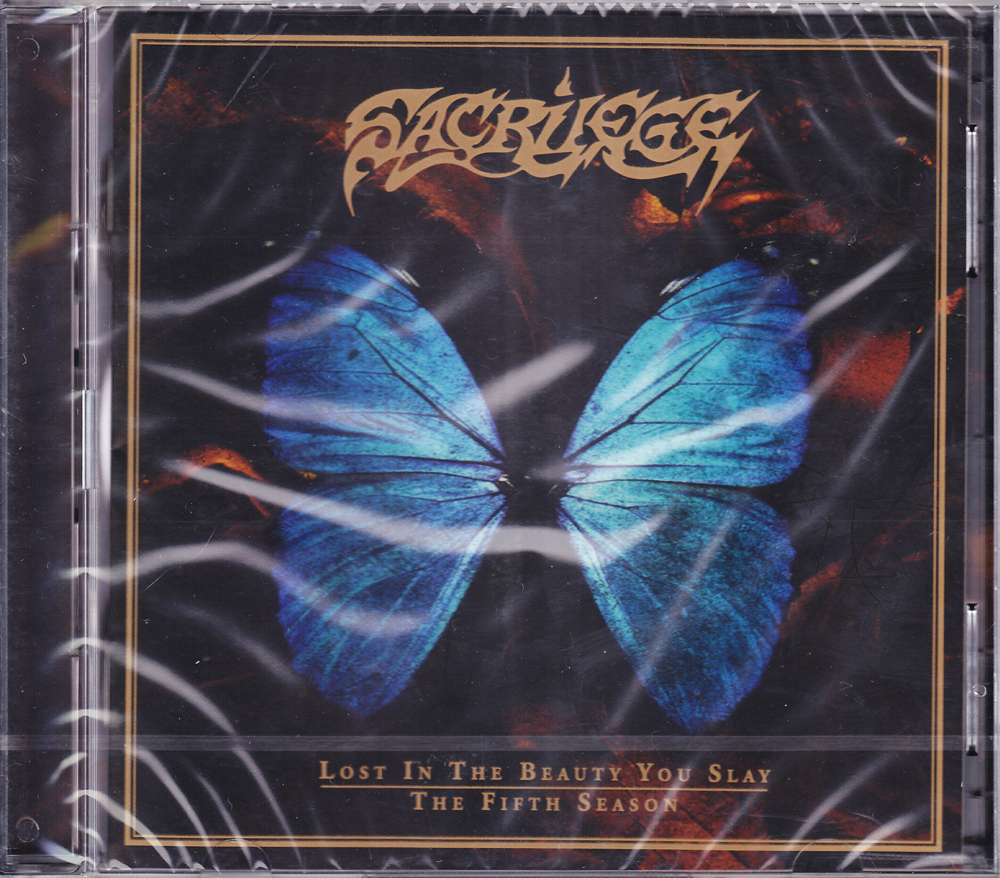 SACRILEGE 『Lost in the Beauty You Slay & The Fifth Season (2CD)』