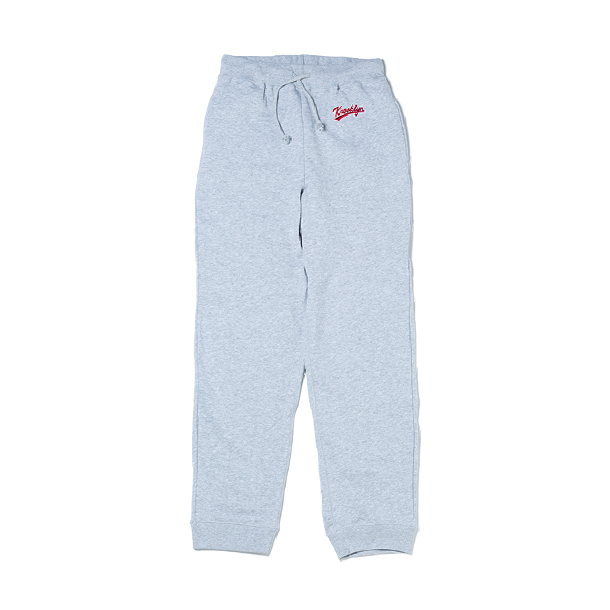 K'rooklyn Logo Sweat Pants - Gray