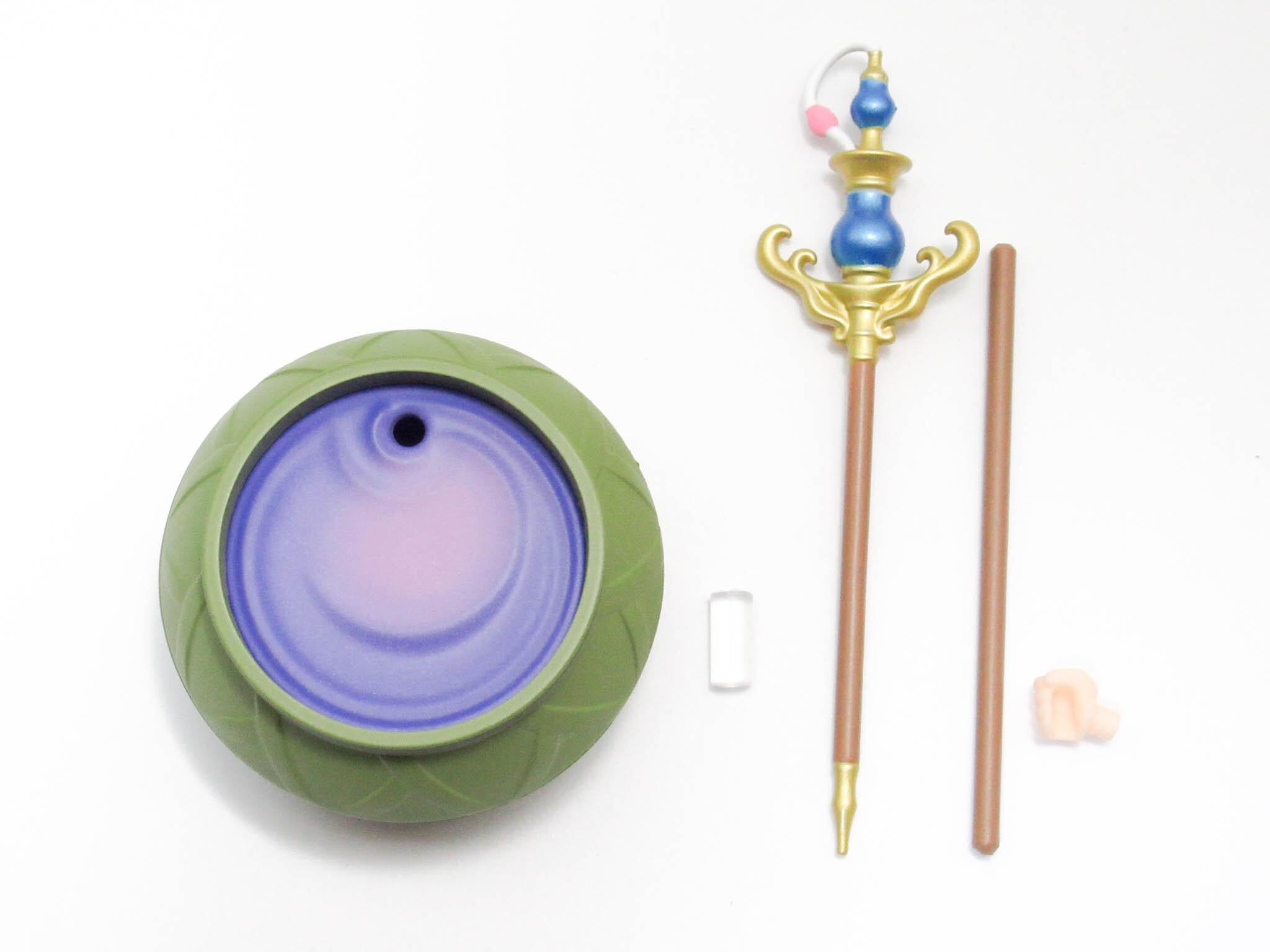 再入荷【1133】 ロロナ 小物パーツ 杖と錬金釜 ねんどろいど