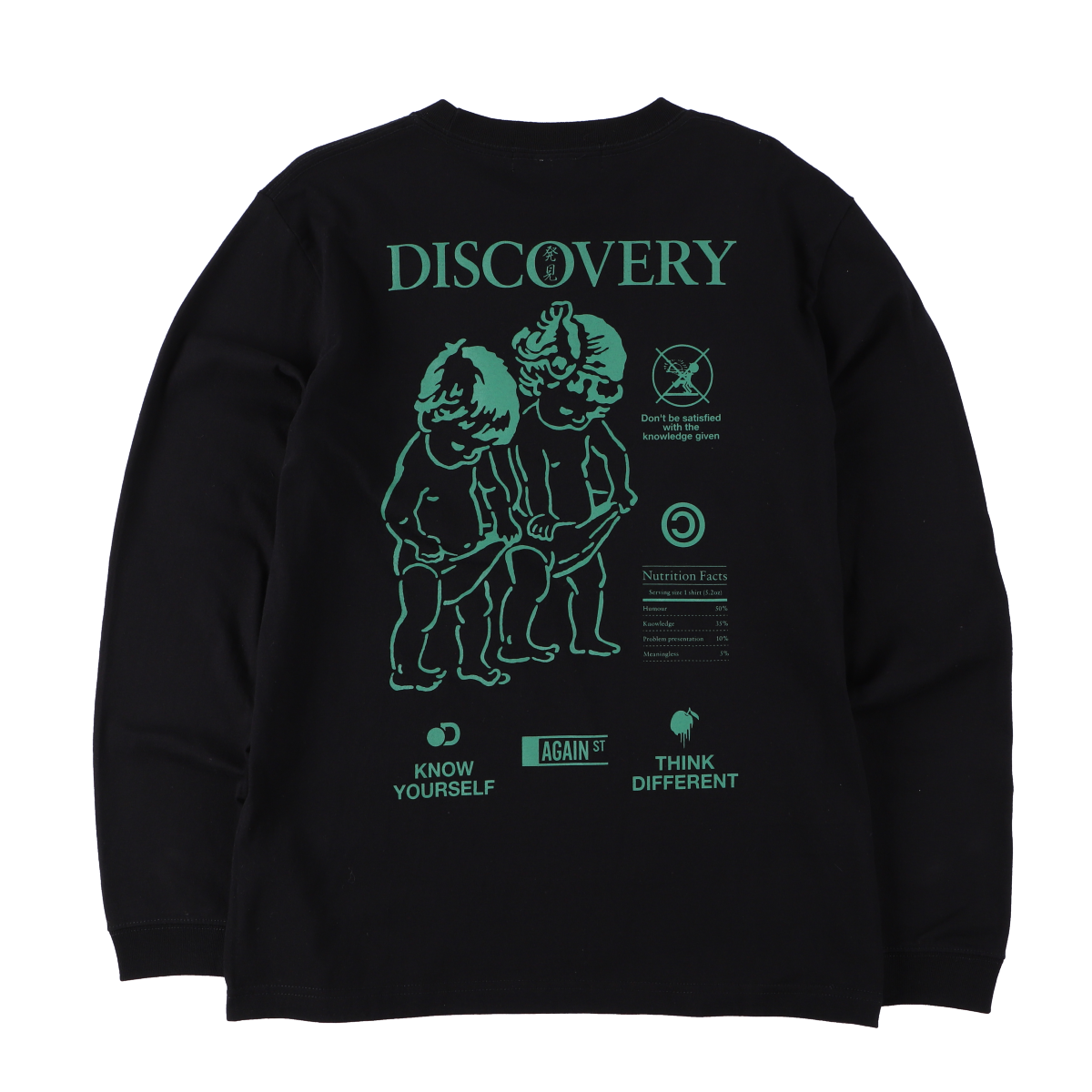 DISCOVERY L/S Tee Black