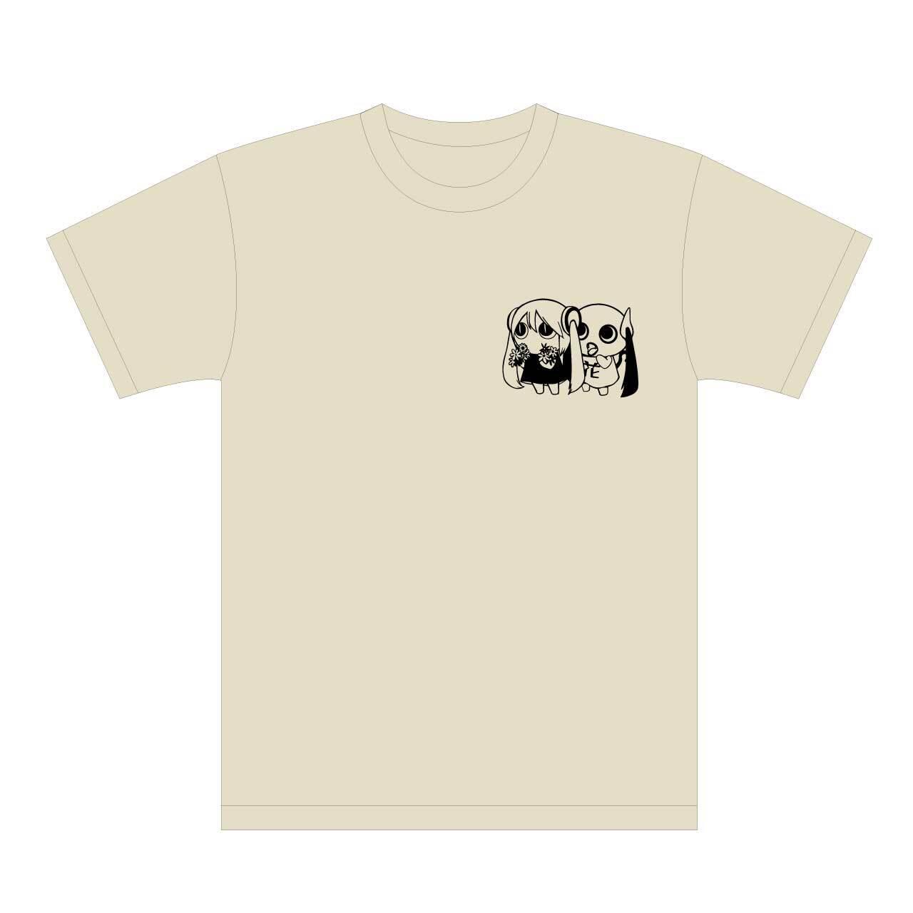 ピノキオピー 文明開花 Tシャツ(ストーン)+ステッカーセット - 画像1
