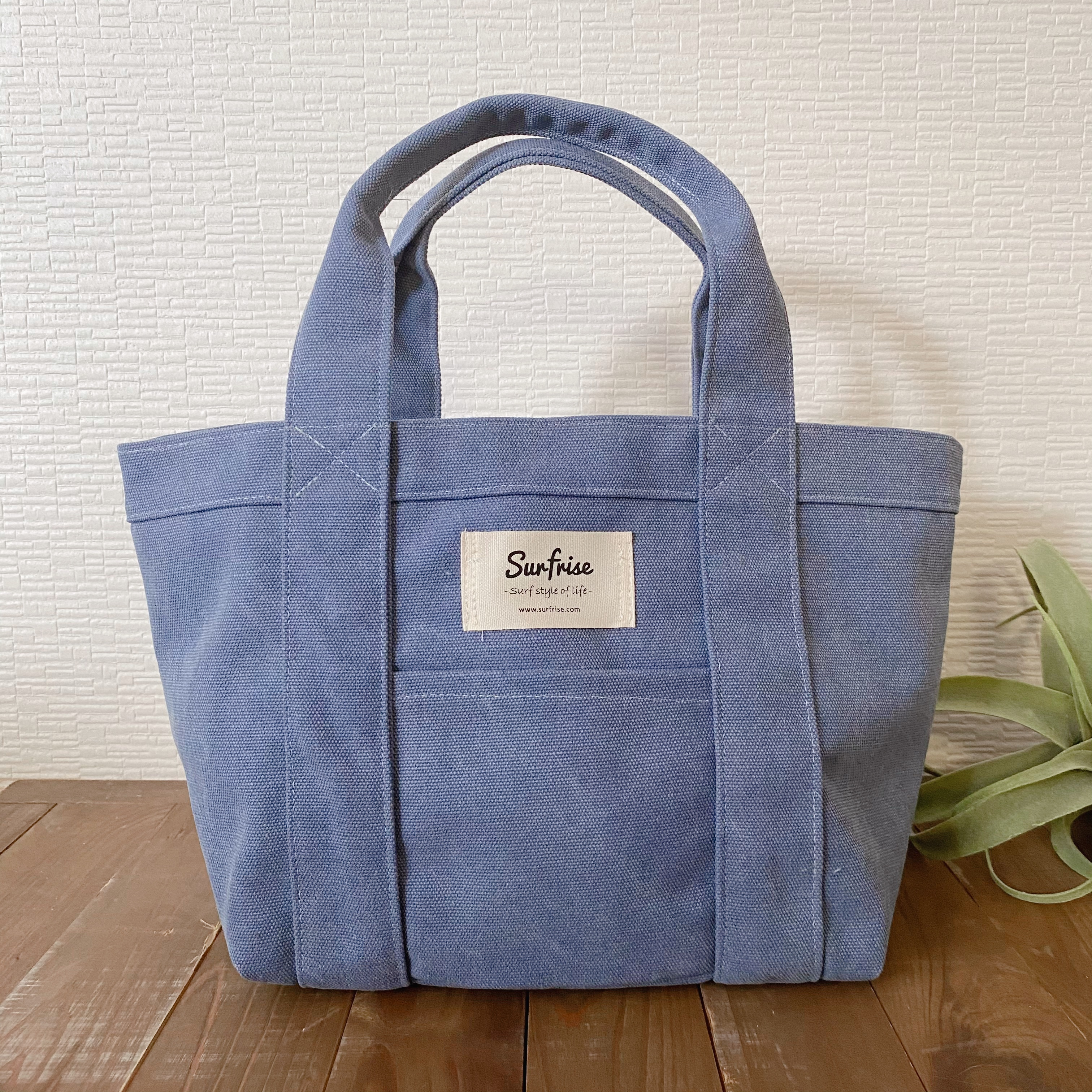 Tote bag S - Vintage blue