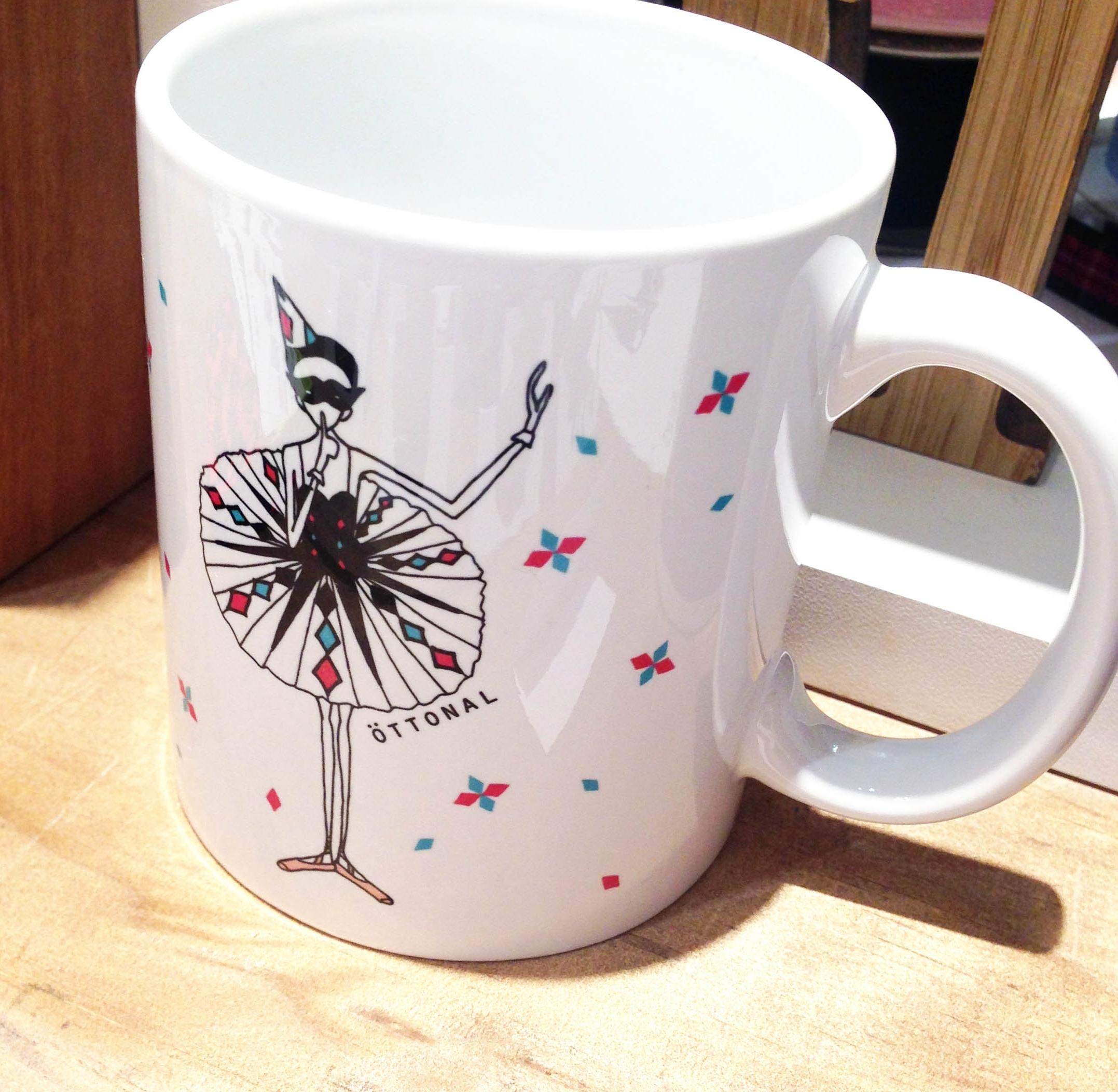 アレルキナーダ マグカップ - 画像1