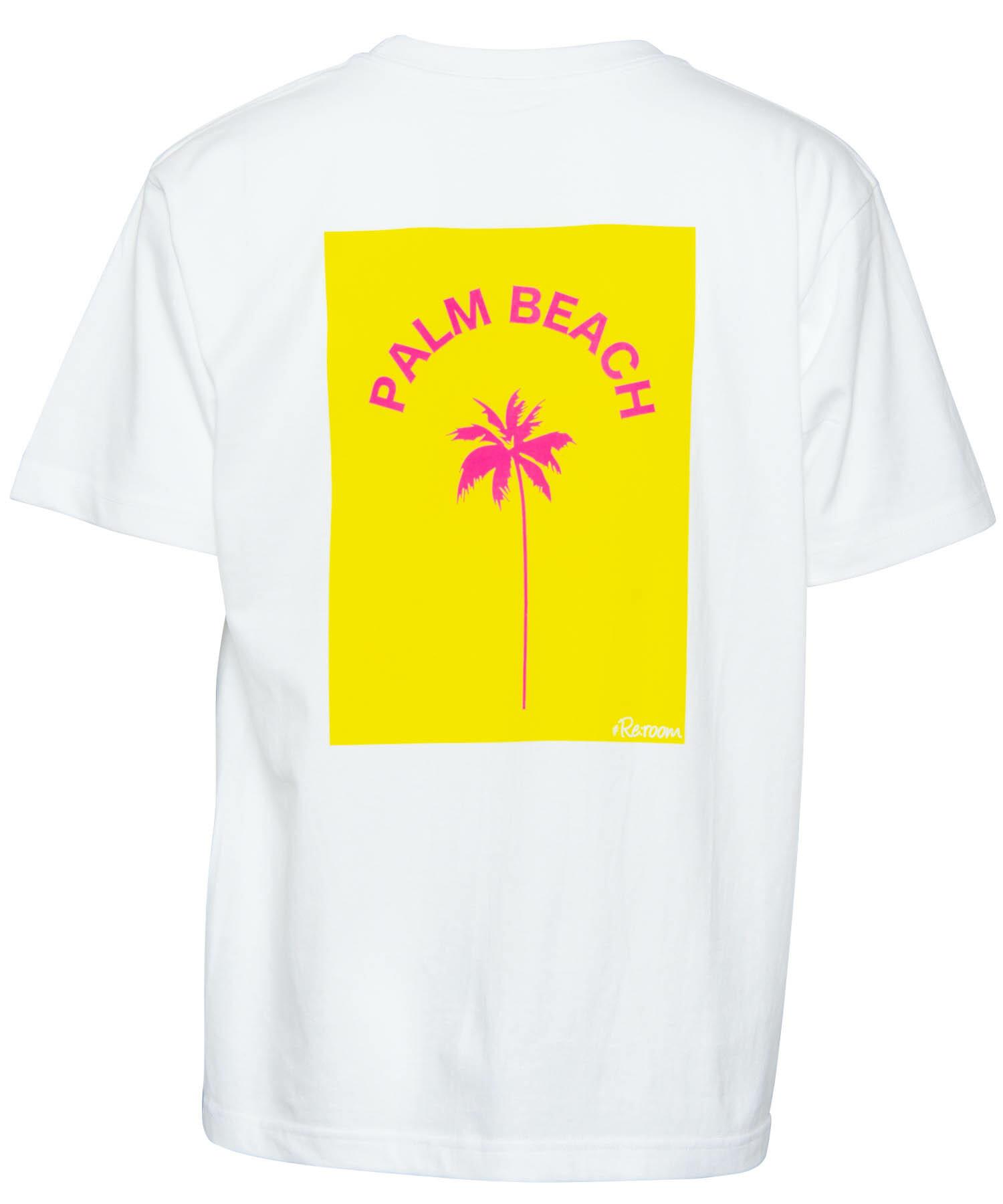 PALM BEACH PRINT T-shirt[REC290]