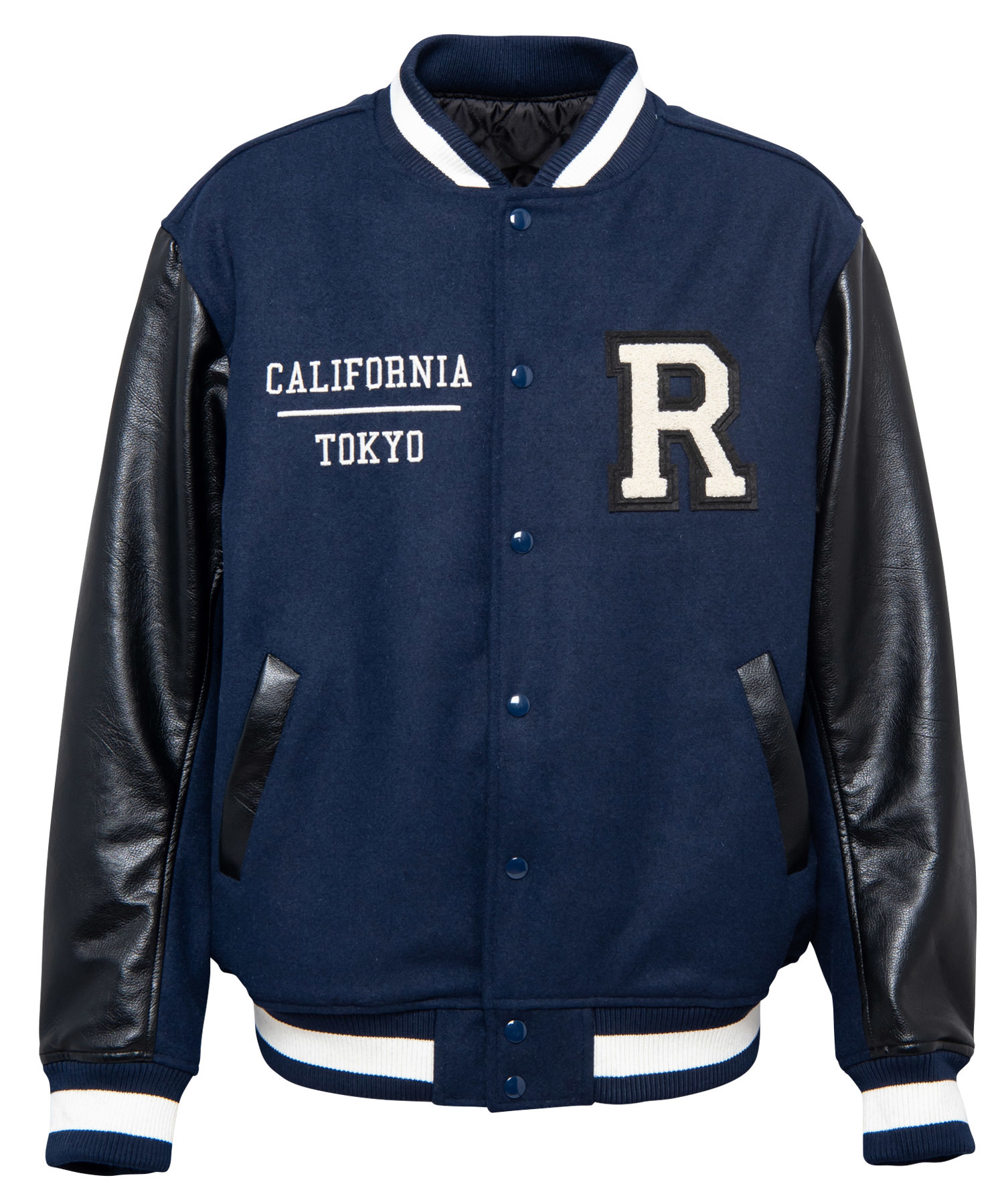 R LOGO BIG STADIUM JUMPER[REJ027]