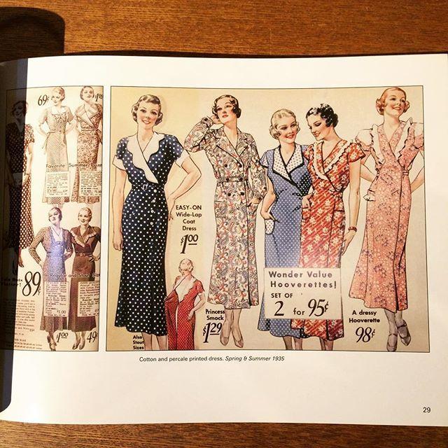 ファッションの本「Fashionable Clothing from the Sears Catalogs: Mid 1930s」 - 画像2