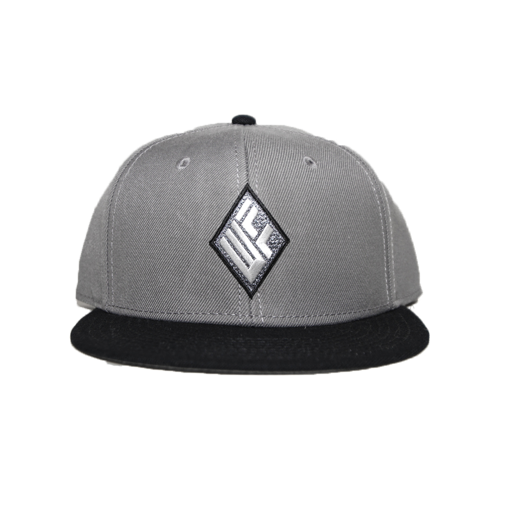 WILL SNAPBACK CAP (GREYxBLACK)
