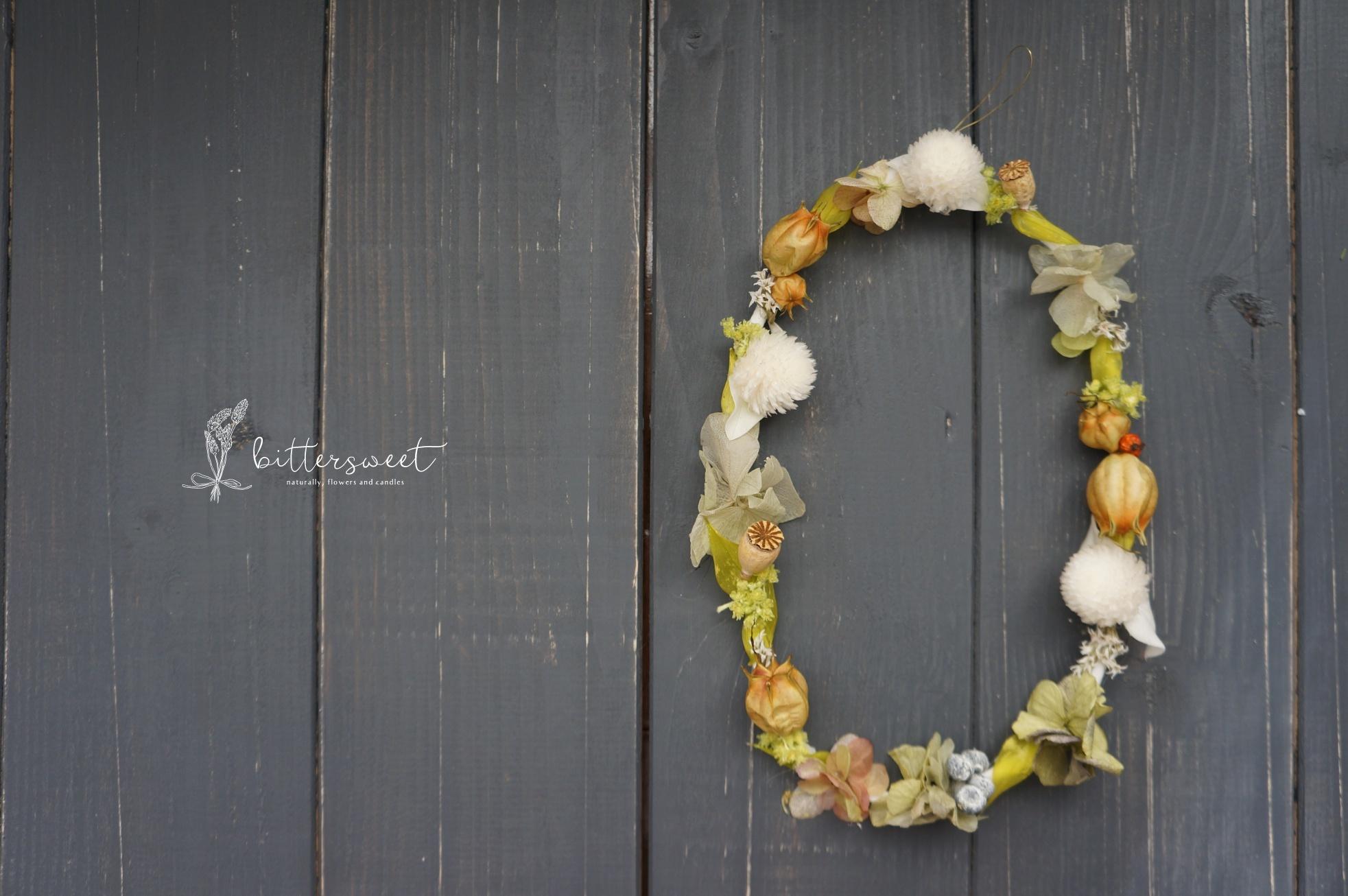 Wire wreath no.011