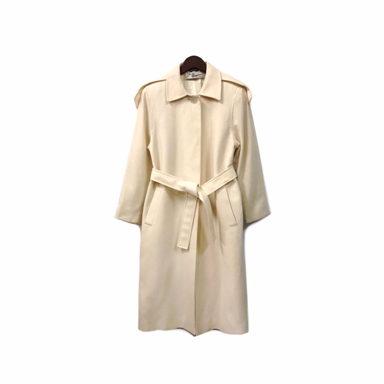 USED - Wool Long Coat ¥20500+tax