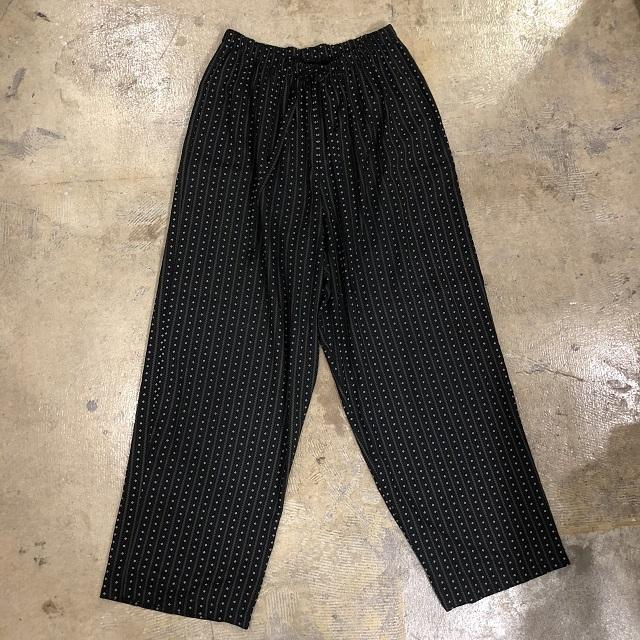 VINTAGE STUDIO PRINT EASY PANTS #BT-100