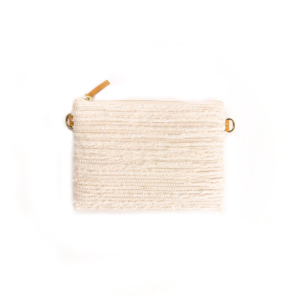 Flat Pouch / White × White : 2110200100405