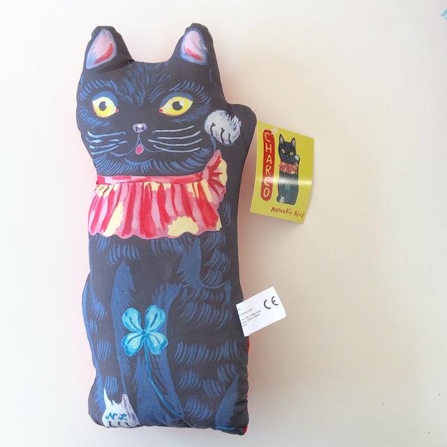 "Nathalie Lete ""Charco Lucky Cat"" ナタリーレテ 招き猫 人形 ドール"