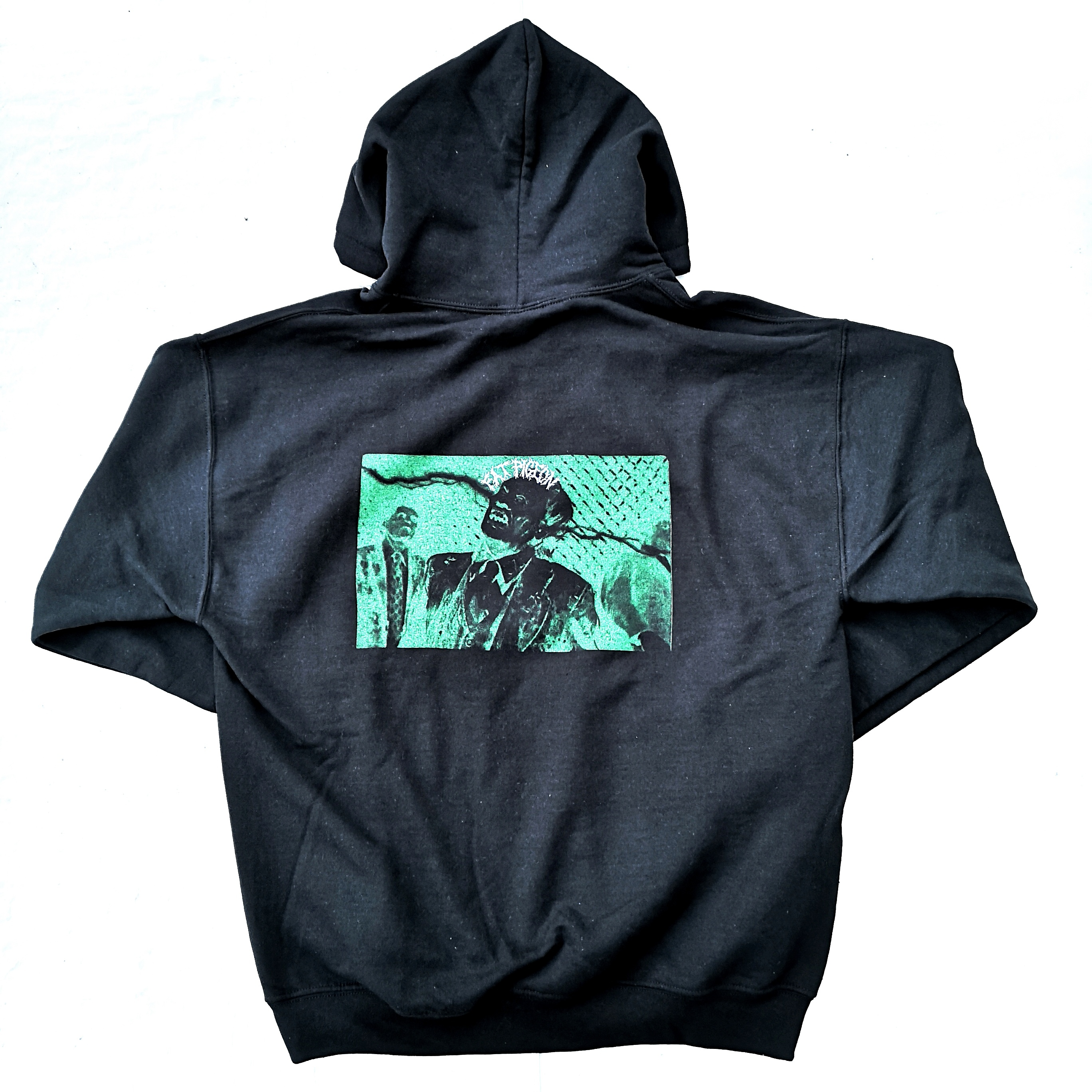 FAT PIGEON RECORDS HOODIE BLACK L
