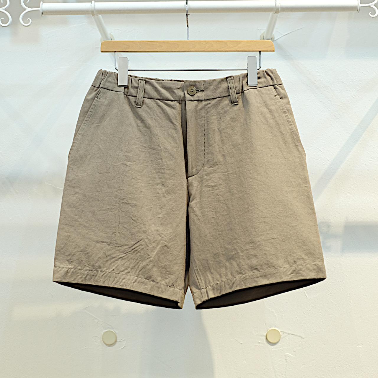 KUON(クオン) 綿和紙 イージーショートパンツ