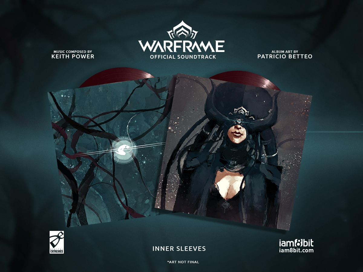 【ウォーフレーム】Warframe Vinyl Soundtrack 2xLP - 画像4