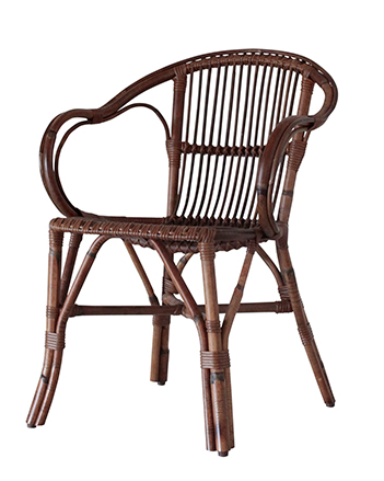 RATTAN ARM CHAIR