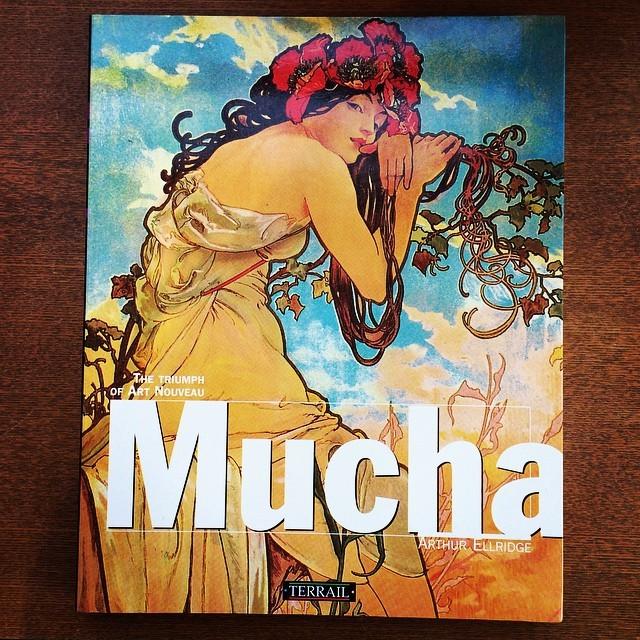 画集「Mucha: The Triumph of Art Nouveau」 - 画像1