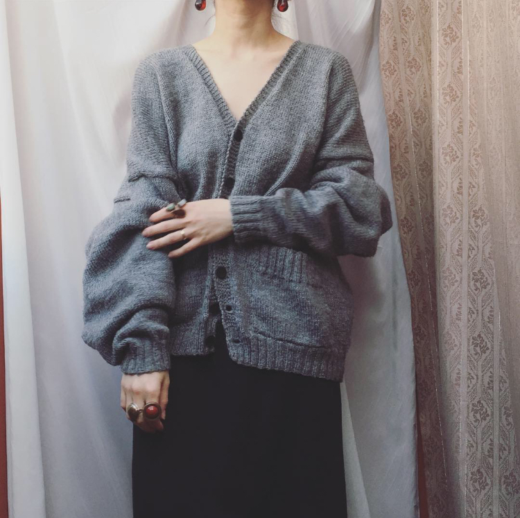vintage over sized cardigan