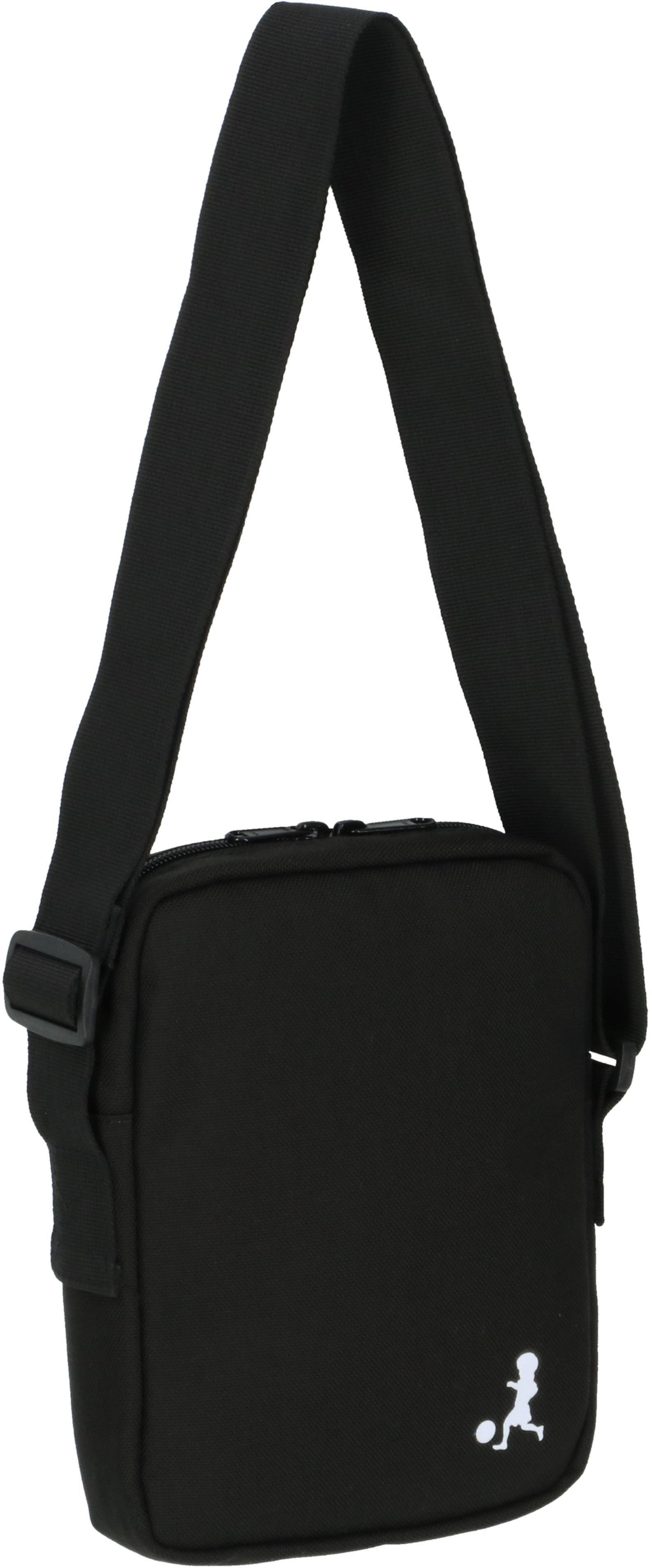 19024 Duelo Logo Mini Shoulder Bag BLK