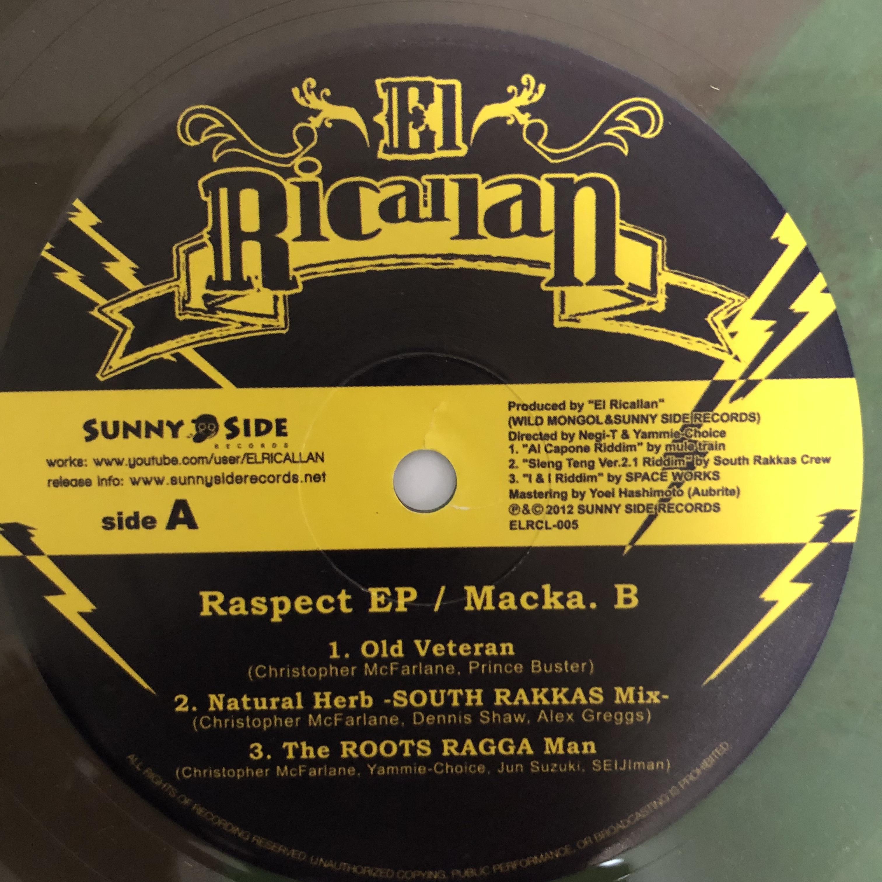 Macka B - Raspect【12-50009】