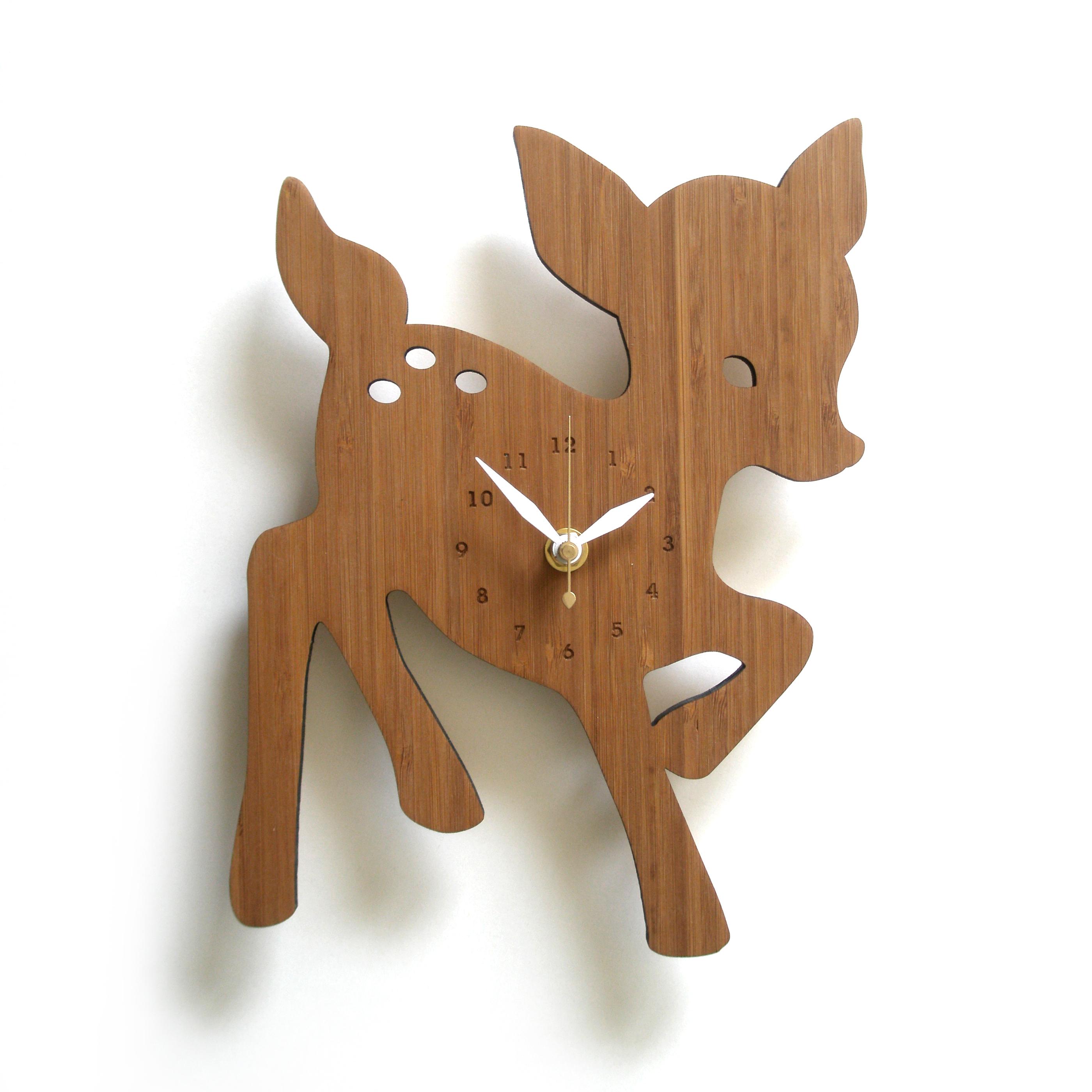 FAWN コジカの掛け時計