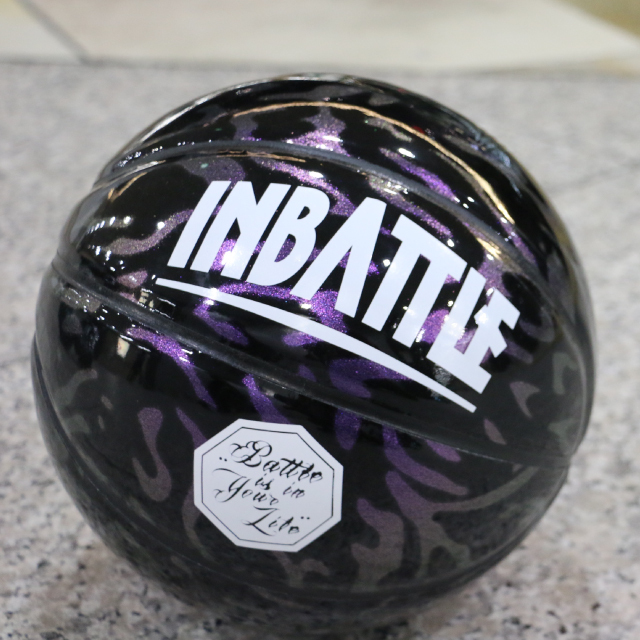 INBATTLE Purple Leopard