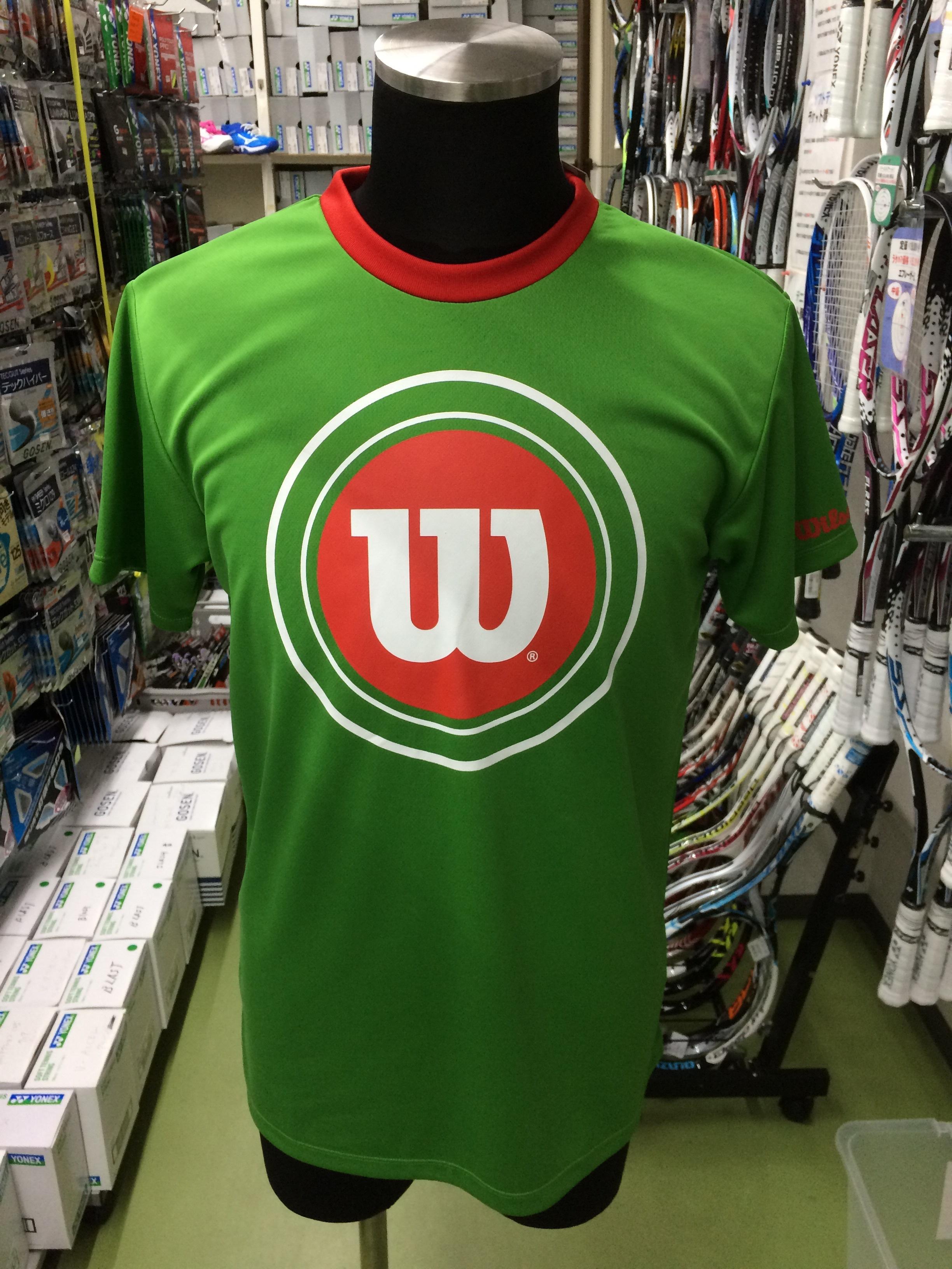 ウィルソン Tシャツ WRJ5007GR - 画像1