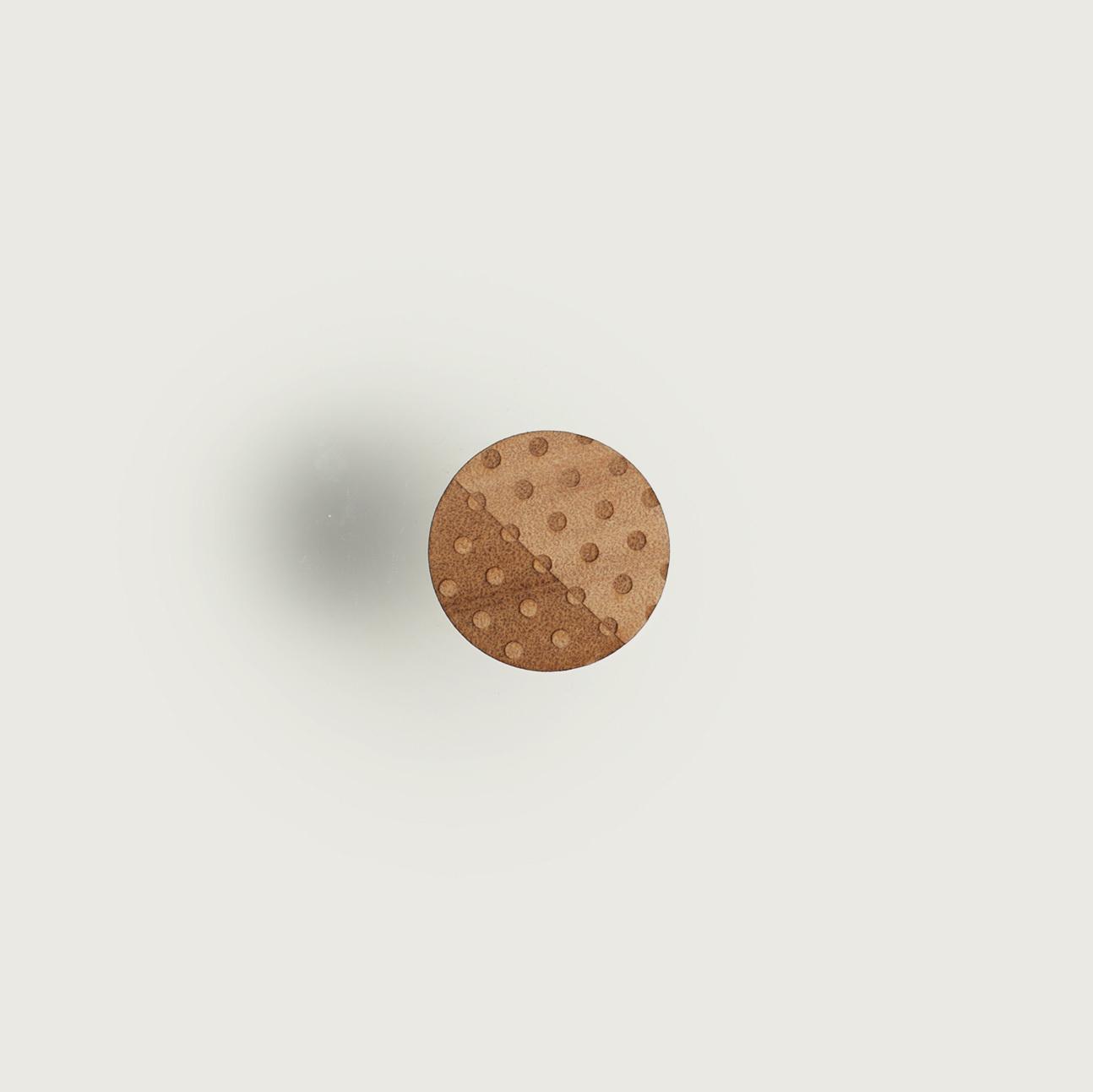 brooch circle dot / まるドットブローチ
