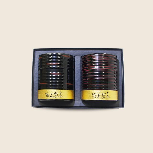 古櫃缶セット (初摘200g・山香200g)
