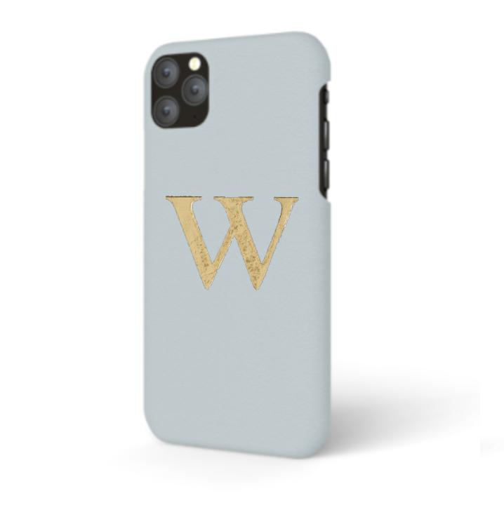 iPhone  Premium Smooth Leather Case (Aqua)