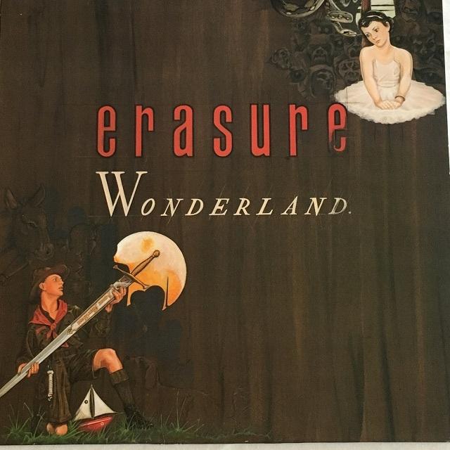 【LP・英盤】Erasure / Wonderland